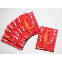 7 Kunztpostkarten FROSCHE WEIHNACHTEN, Weihnachtskarten, 7 Postkarten, Weihnachtsfest, Glückwunschkarte Bild 1