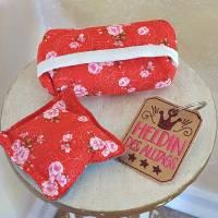 Mini Täschchen Steine  Masken-Tasche Taschentuchtasche Bild 1