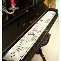 Tastenläufer für Klavier Keyboard Piano Concerto Längenwahl x Breite 15,5 cm Tastaturabdeckung Klavierabdeckung Tastatur Bild 1