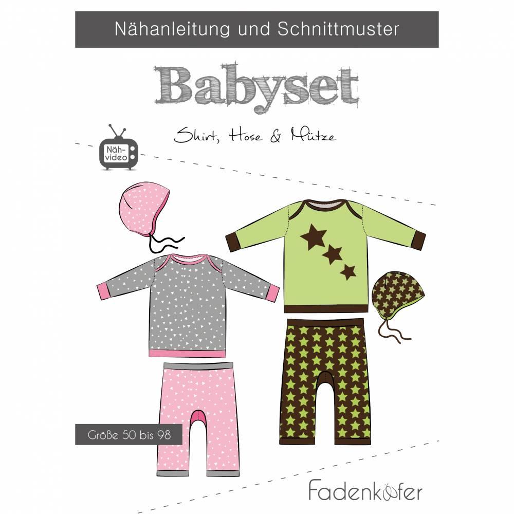 Schnittmuster Fadenkäfer Babyset Bild 1
