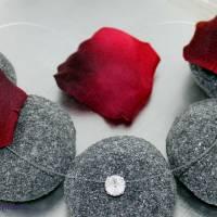 schwebender Kristallstein - transparente Kette + der Klassiker + fliegender Stein - Halskette durchsichtig Bild 1