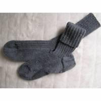 Socken - Gr. 41 - handgestrickt Bild 1