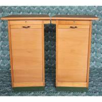 Schubladenschrank mit Rolltür Büro Werkstatt Loft Vintage Bild 1