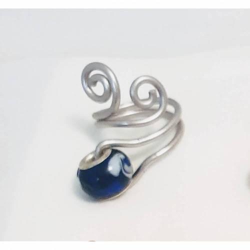 Ring Schnörkel in Silber