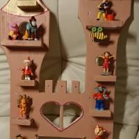 Hübsches großes Regal für die Tonie-Box und bis zu 19 Tonie-Figuren Bild 5