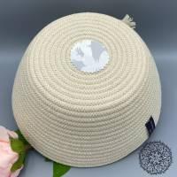 RopeBowl, Utensilo aus Baumwollseil, Korb aus Baumwollseil, Schale aus Baumwollseil, Korb Seil Bild 3