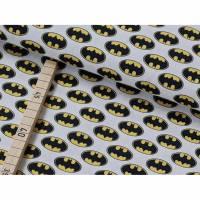 Baumwolle Batman, Fledermaus auf weiß Bild 1