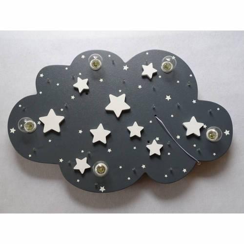 """Kinderlampe Deckenleuchte """"STARS"""" handgefertigt und individuell"""
