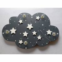"""Kinderlampe Deckenleuchte """"STARS"""" handgefertigt und individuell Bild 1"""