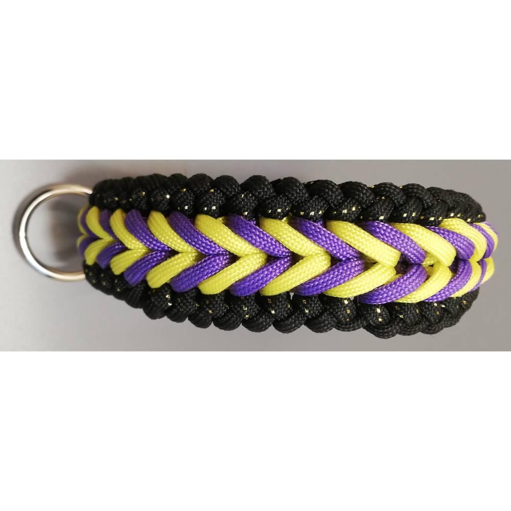 handgefertigtes Hundehalsband Bennos Happines in Wunschfarben Bild 1