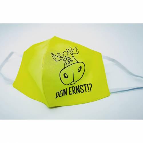 Mund-Nasen-Masken /Behelfsmasken mit kultigen Kuh Plott / Dein Ernst!?