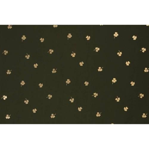 NANO-Softshell mit Foliendruck, Lucky, khaki, gold