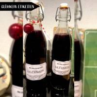 Freebie Etiketten für Glühwein inklusive Rezept Bild 1