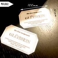 Freebie Etiketten für Glühwein inklusive Rezept Bild 3