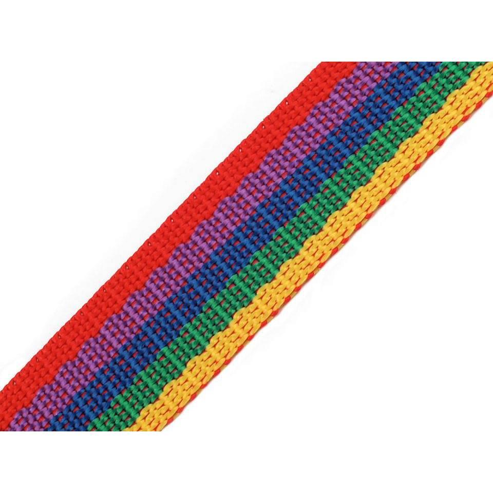 (0,50€/m) Gurtband Polypropylen 1 m bunt Bild 1