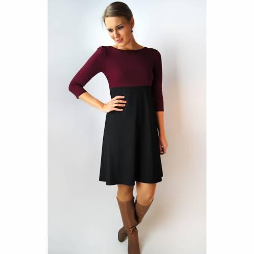 Kleid AVA two tone