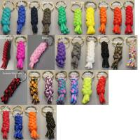 handgefertigter Schlüsselanhänger Rund in Wunschfarben Bild 2