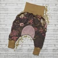 *Upcycling-Einzelstück* süße Pumphose mit Taschen für Kinder Größe 62 Bild 1