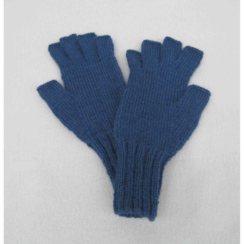 Fingerhandschuhe ohne Kuppen  fingerlose Handschuhe  Bild 1