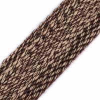 Gurtband beige/braun in Weboptik, 39 mm Breite  Bild 3
