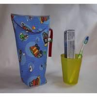 Zahnputztasche für Jungen, Zahnputzbeutel, Zahnpflegebeutel, Kosmetikbeutel Bild 1