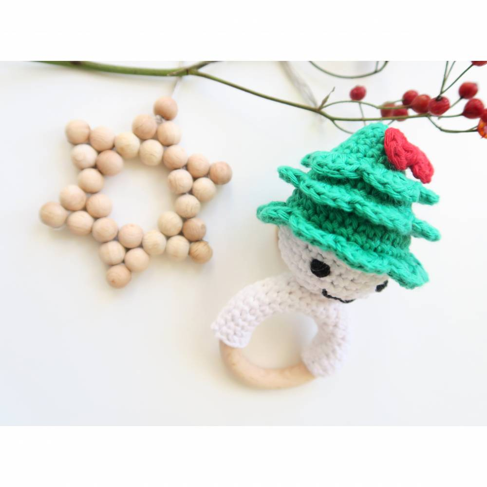 Weihnachts-Wichtel - Rassel & Beißring Bild 1