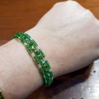 Memory Wire Wickelarmband Spiraldraht Armband Armreif Speicherdraht Wrap Bracelet