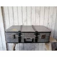 Alter Koffer / 50er Jahre / Vulkanfiber / alter  Reisekoffer / Gepäck Bild 1