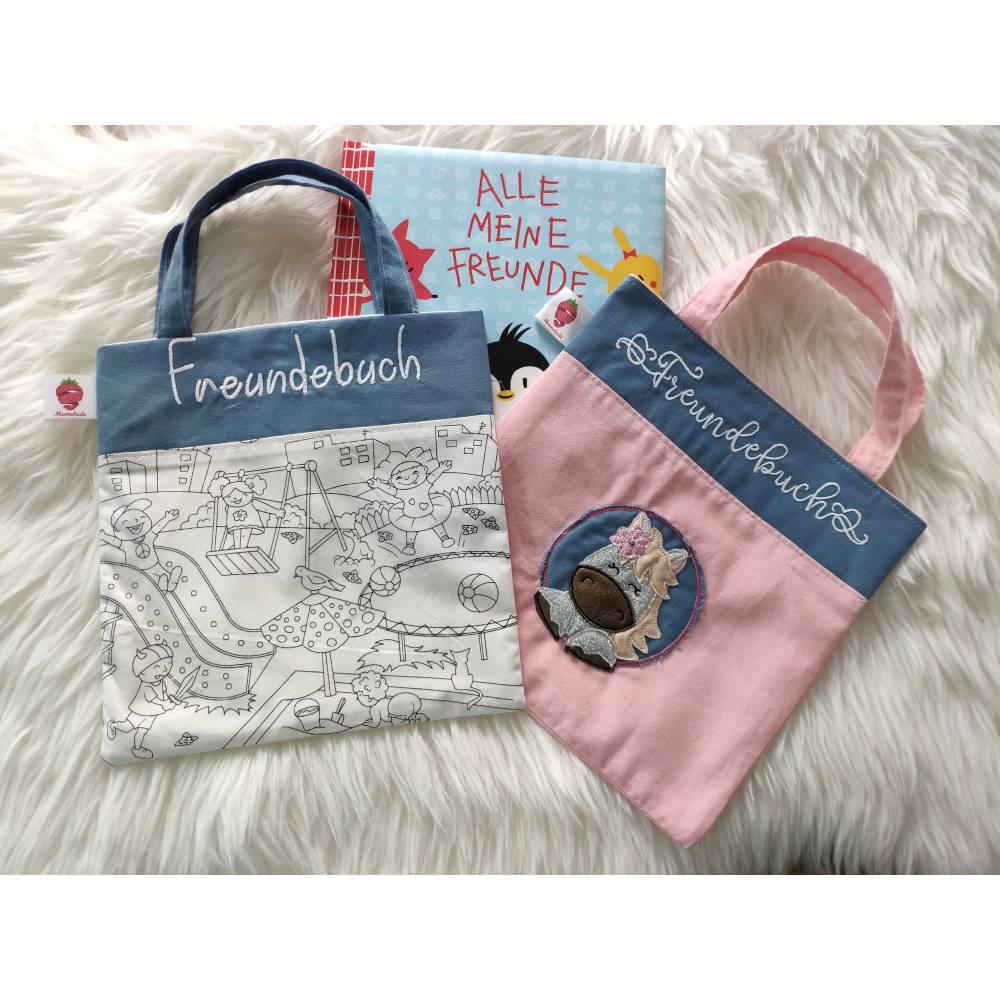 Tasche für Freundebuch Bild 1