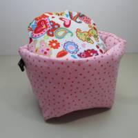 Eierkörbchen/ Eierwärmer *Principessa* Baumwolle mit Deckel nach Wahl  Bild 2