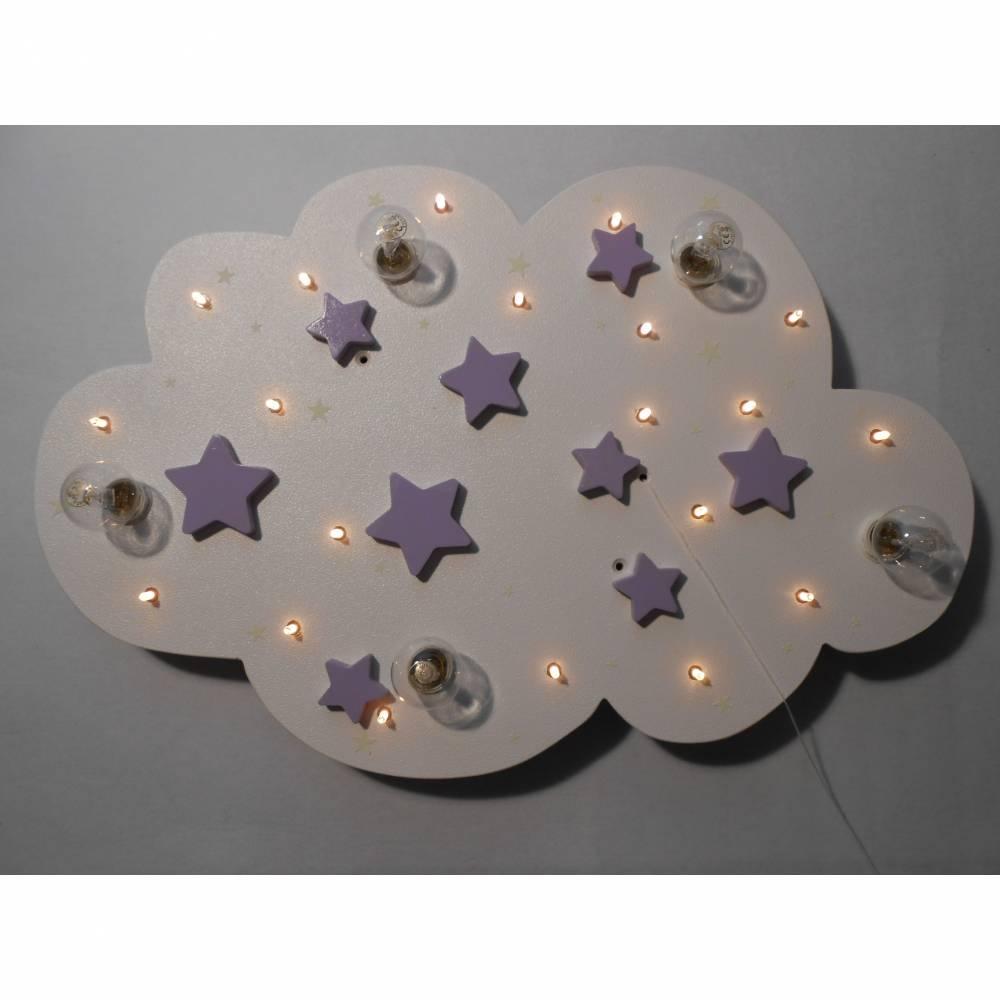 Kinderlampe Stars Weiss Deckenlampe Neu Bild 1