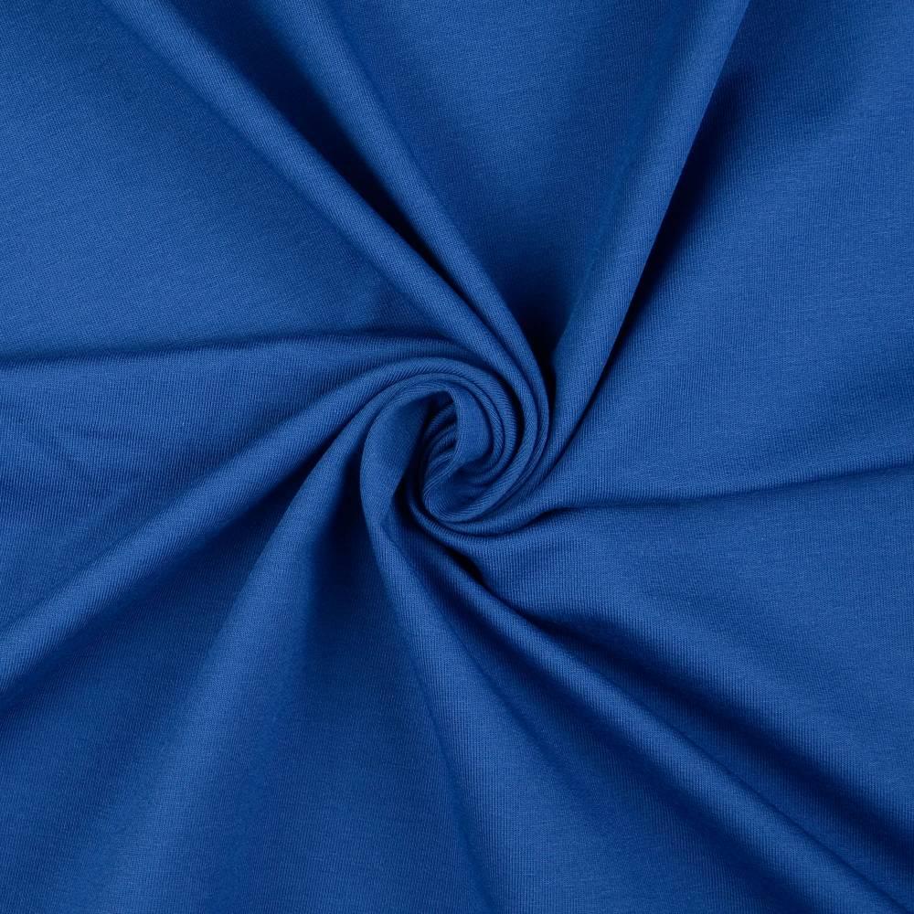 French Terry / Sommersweat uni blau Bild 1