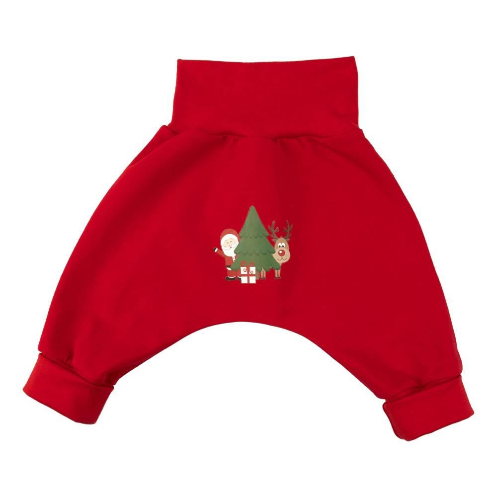 Baby Kinder Mädchen Jungen Pumphose Weihnachten Geschenk Gr. 62 SOFORTKAUF Einzelstück Unikat Bild 1