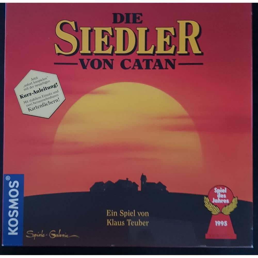 vintage, Brettspiel Die Siedler von Catan, Basisspiel (Holzfiguren von 1995) Bild 1