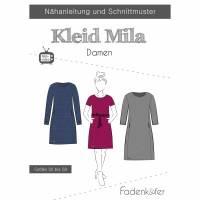 Schnittmuster Fadenkäfer Kleid Mila Damen Bild 1
