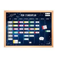 SP-011 magnetischer Stundenplan Weltall mit 90 Magneten Organizer Termine Planen Stundenliste Bild 2