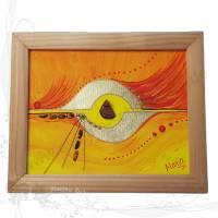Original-Gemälde *Seelenfenster 02*, gemalt von der Künstlerin Alanja, keine Versandkosten Bild 1