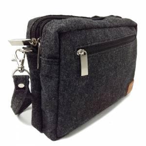 Handgelenk-Tasche Organizer kleine Brieftasche Herrentasche Reisetasche Organizer für Dokumente Bild 2