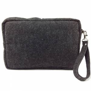 Handgelenk-Tasche Organizer kleine Brieftasche Herrentasche Reisetasche Organizer für Dokumente Bild 4