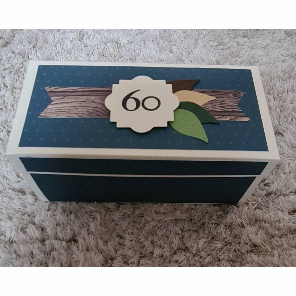 Explosionsbox , 60ziger Geburtstag , Kleeblatt , Alles Gute zum Geburtstag Bild 1