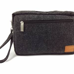 Handgelenk-Tasche für Dokumente Herren Brieftasche Bild 3