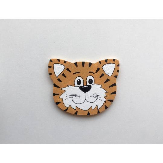 Deko Tiger, passend zu den Buchstaben Bild 1