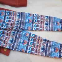 Zweiteiler Inuit Dreams Pulli mit langen Arm und Hosen Set.  Schlafanzug Jersey Stoff Gr. 110-5 Jahre Eskimo Totem Moti Bild 5