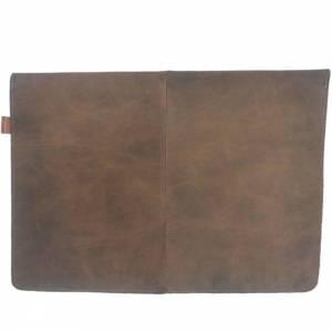 """Ledertasche 15,4 Zoll Hülle Tasche Schutzhülle Schutztasche Sleeve Case für MacBook Pro 15"""", MacBook Pro 16"""" Led Bild 5"""