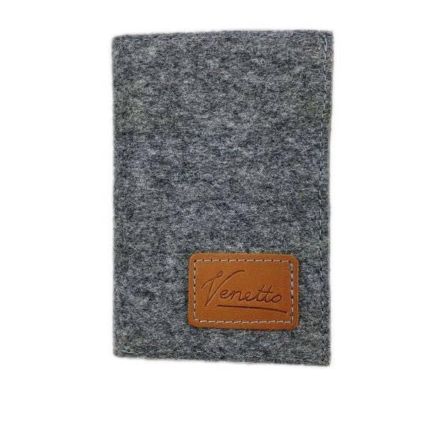 Portemonnaie Geldbörse Geldtasche Brieftasche Damengeldbörse Herrenbörse, Grau Bild 1