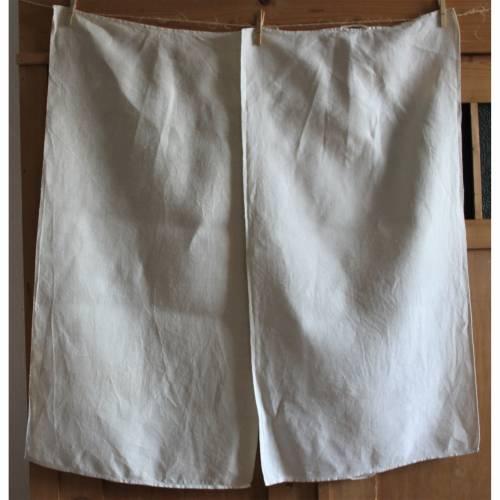 schlichtes langes Vintage Handtuch Leinen Geschirrtuch