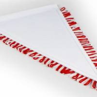 Sublistar Dreieckswimpel MINI 18 x 27 cm. zum Selbstgestalten nach Ihren Wünschen Bild 5