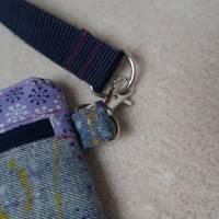 Gürteltasche, Hüfttasche, Handytasche, Jeans, Upcycling Bild 3