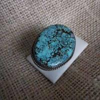 Türkis - Ring, ungehärtet, Arizona, 925 Sterling  Bild 1
