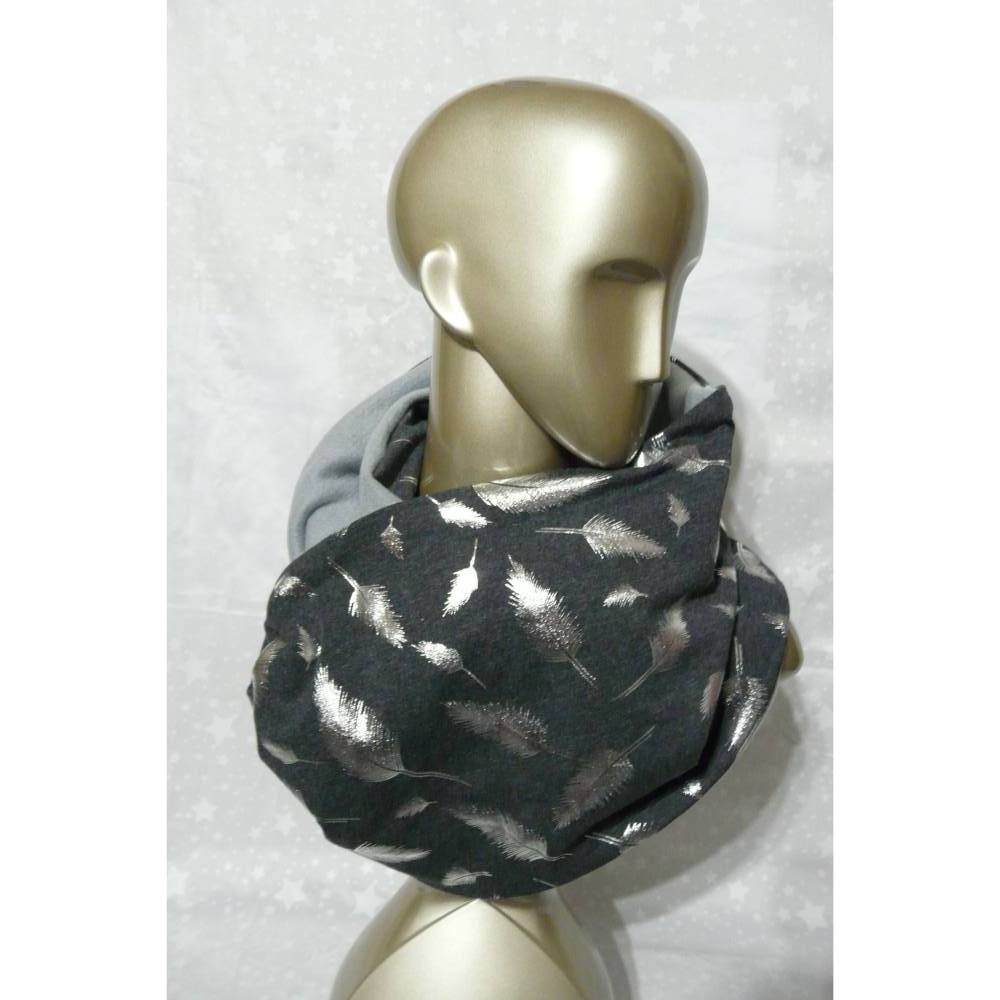 Looply - Silberne Feder Bild 1
